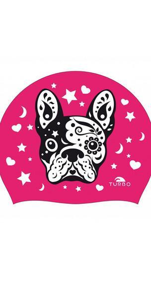Turbo Swim Perrito Swimming Cap Fuchsia